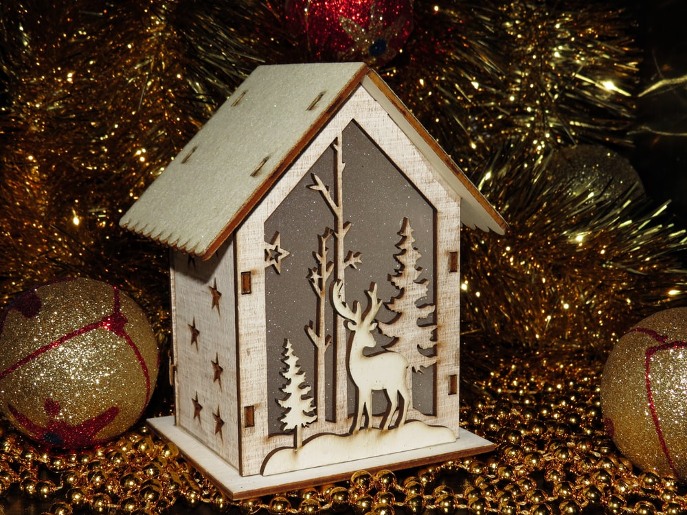 white house miniature