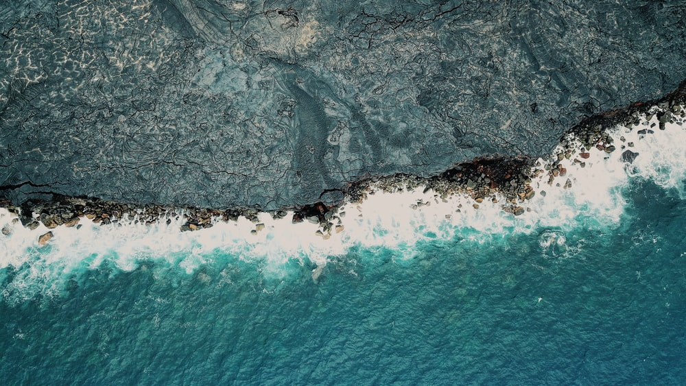 aerial photo of ocean during daytime