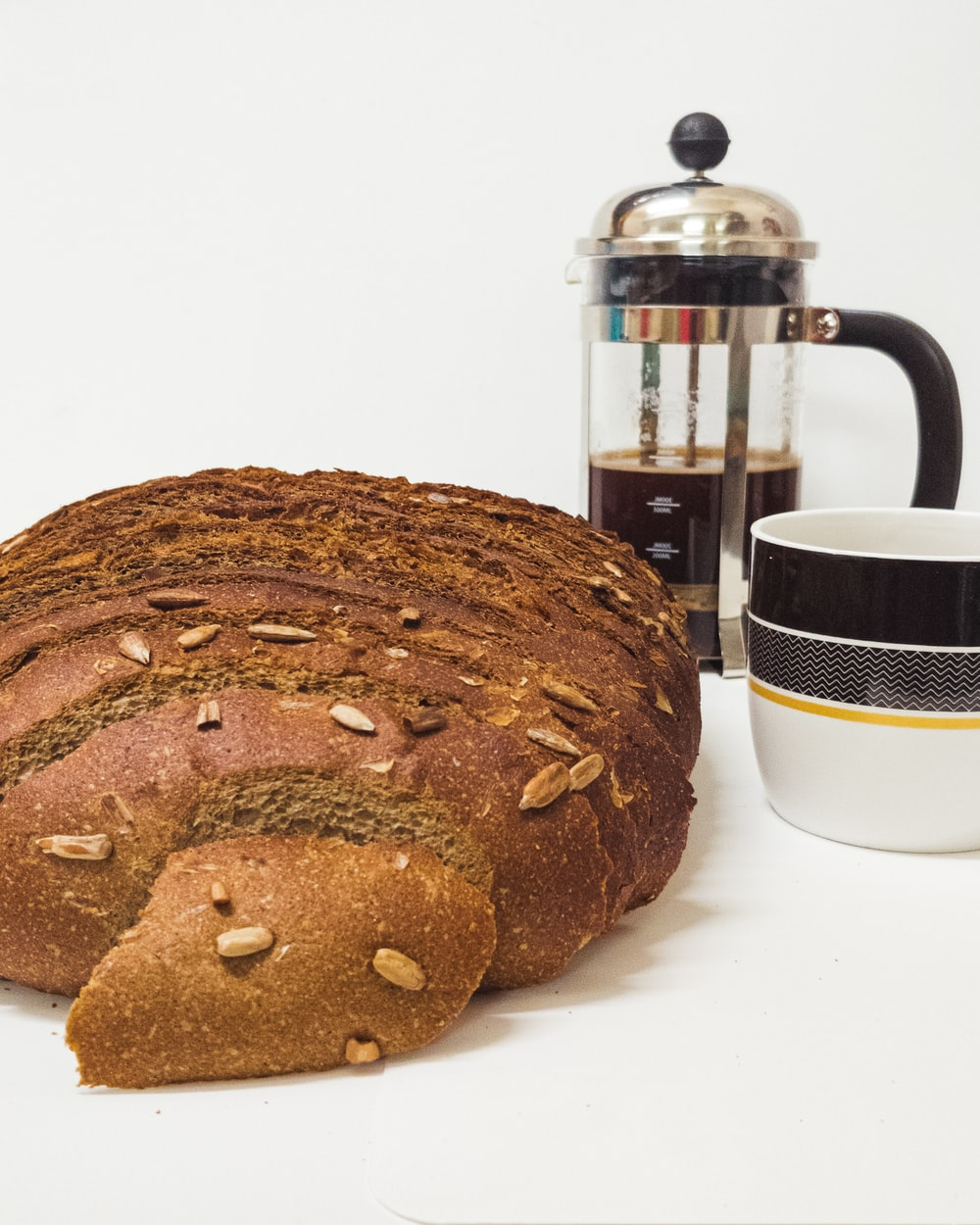 brown loaf bread