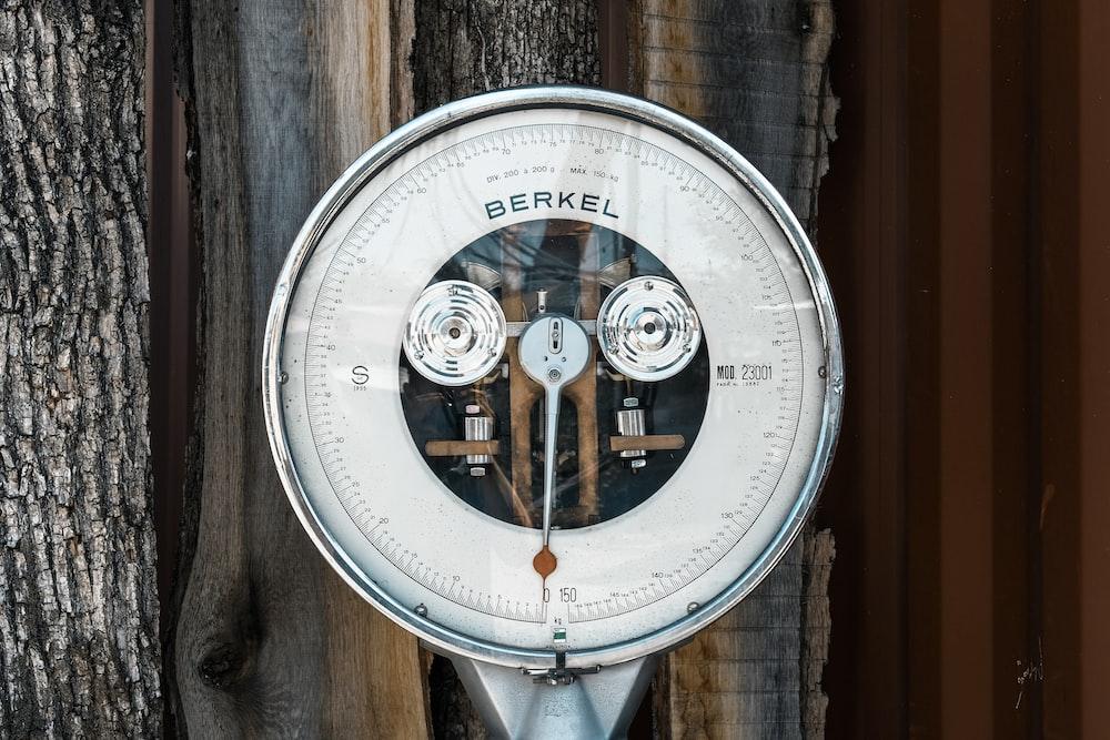 round white Berkel analog scale