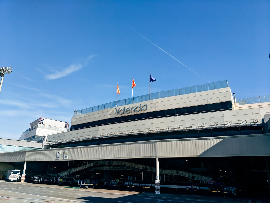 Get on the bus in Valencia Airport