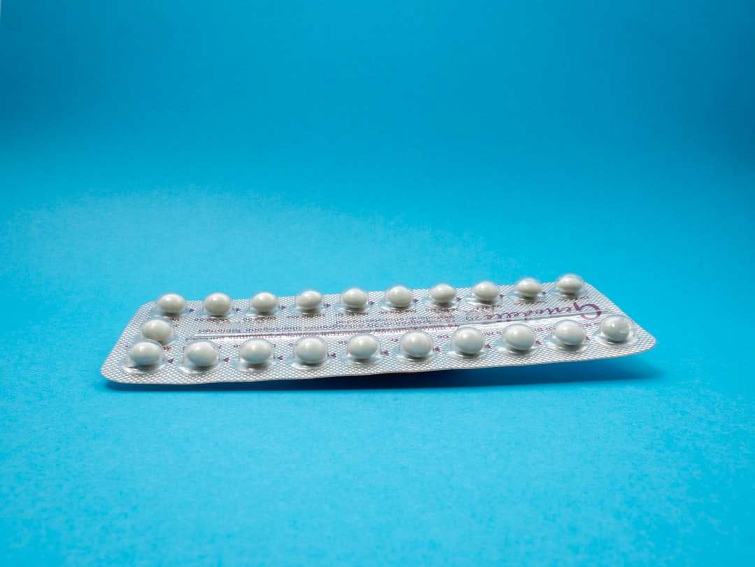 Contraceptive Pills strip