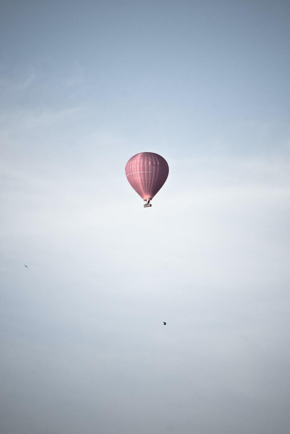 pink air balloon