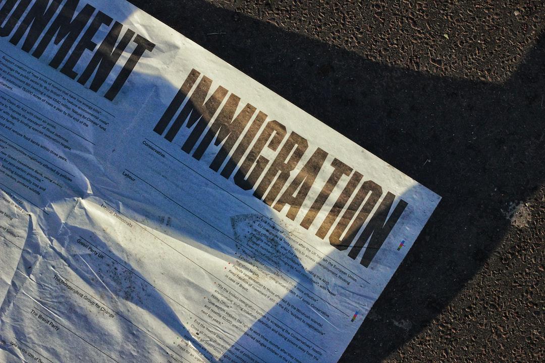Political propaganda paper lying on the Westminster Bridge, London.