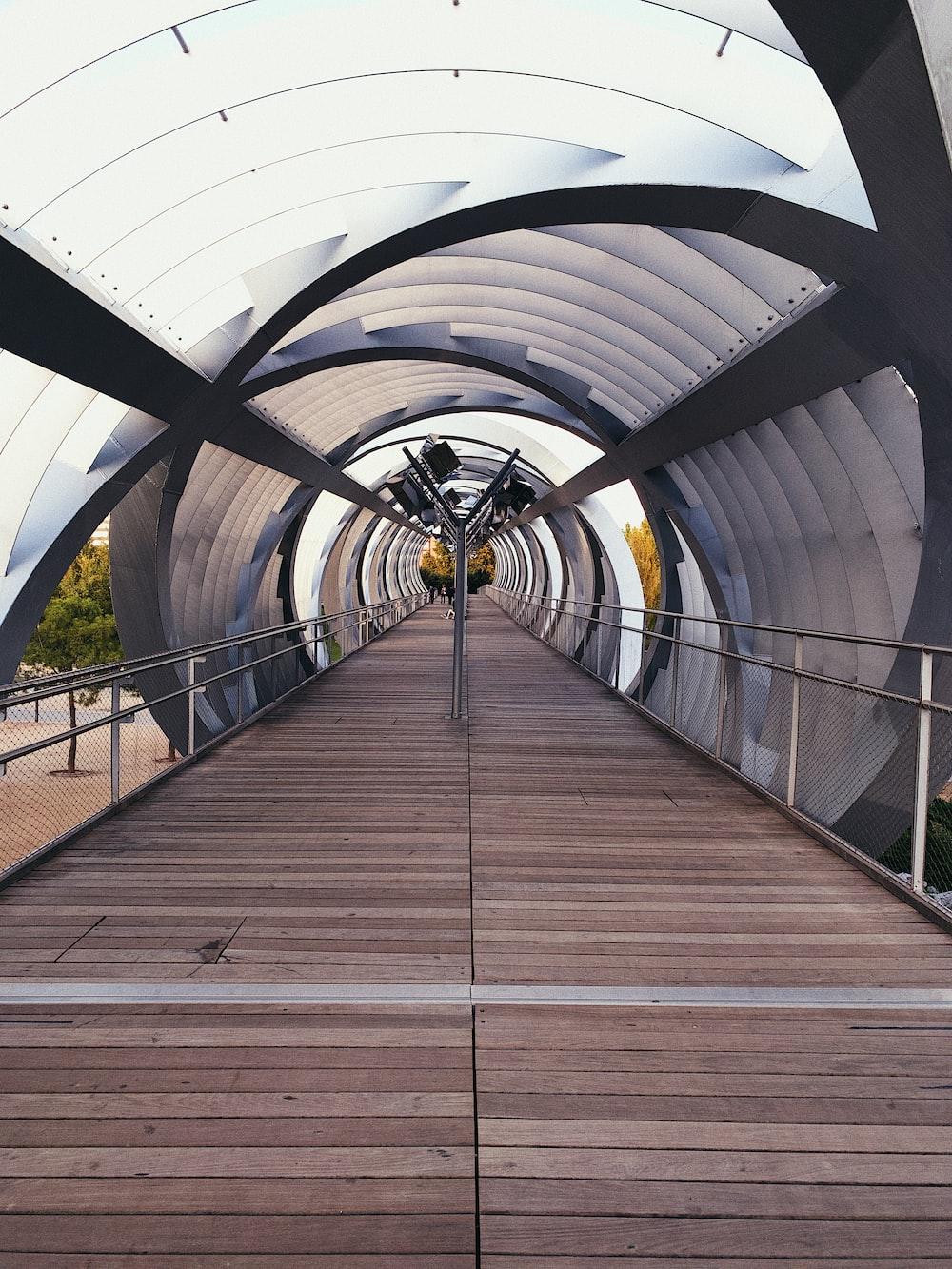 empty walkway during daytime