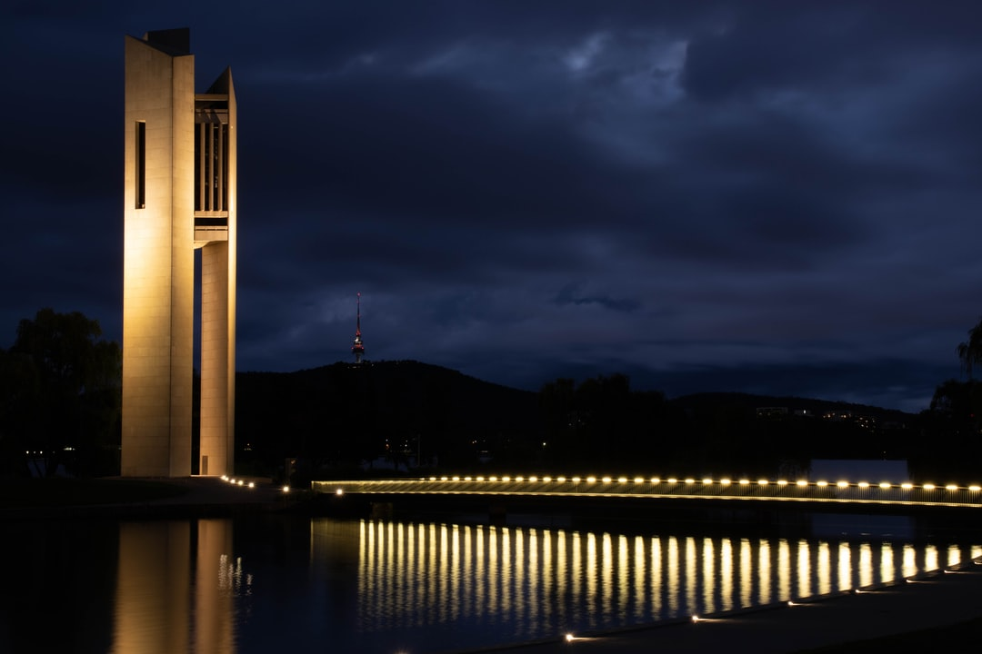 Canberra At Dusk