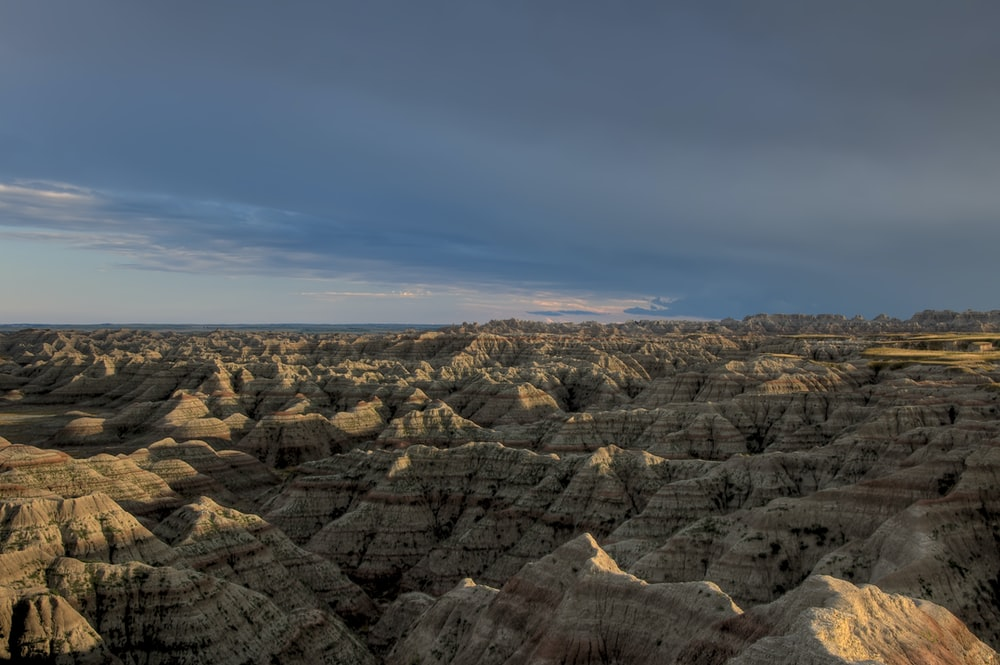 gray canyon during daytime
