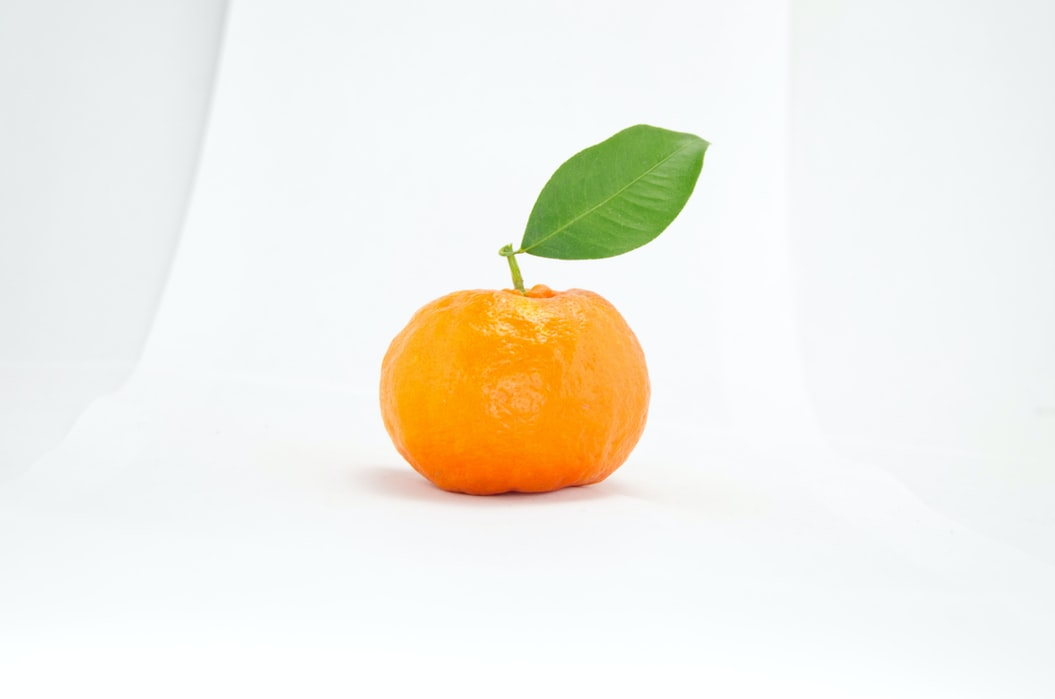 Eating half an orange a day reduces your chances of getting a heart attack by 50%