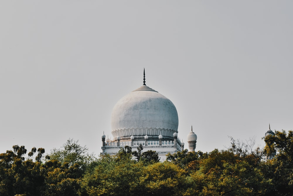 view photography of gray dome building during daytime