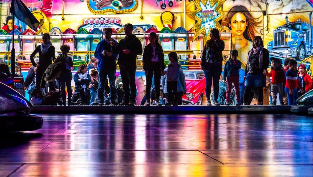 people inside playroom