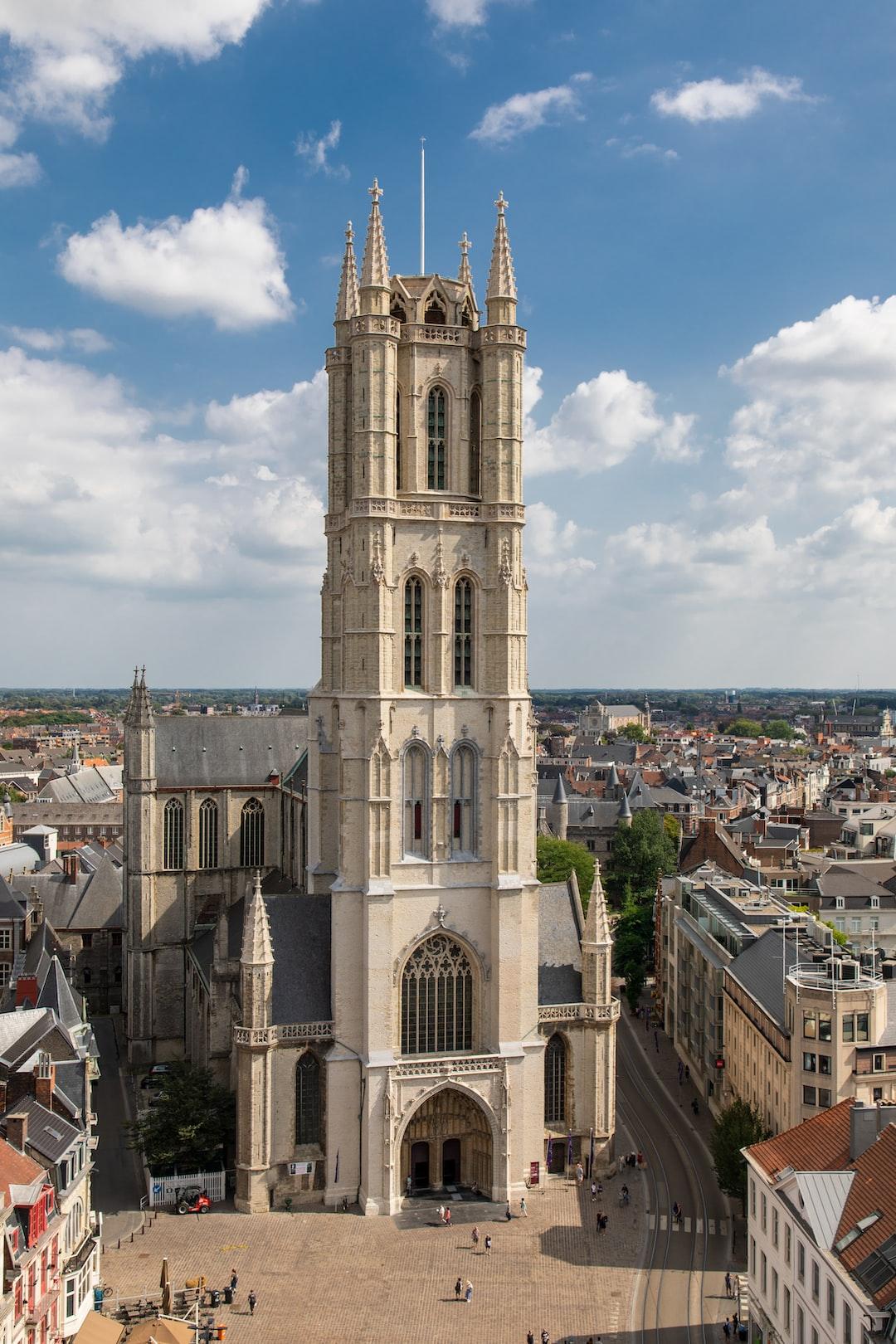 Saint Bavo's Cathedral.