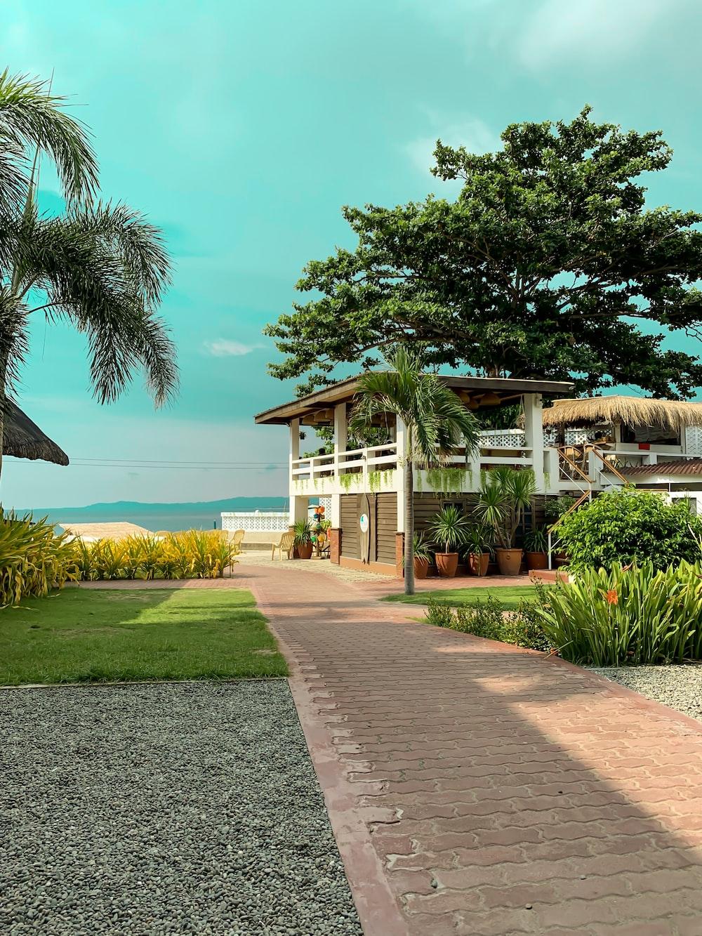 house near sea
