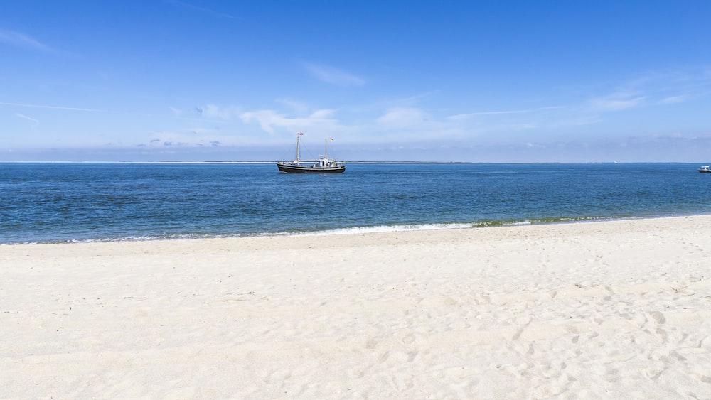 white seashore