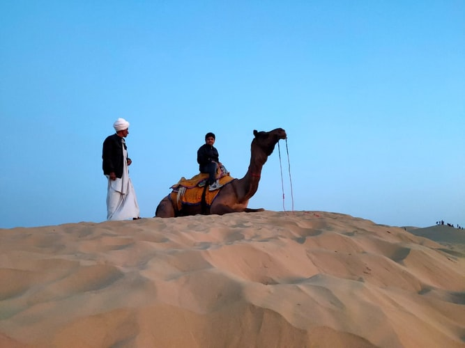 Camel ride in Jodhpur