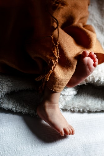 Soft blanket for transporting the baby