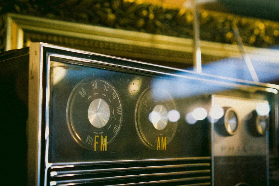 Vintage Radio FM AM