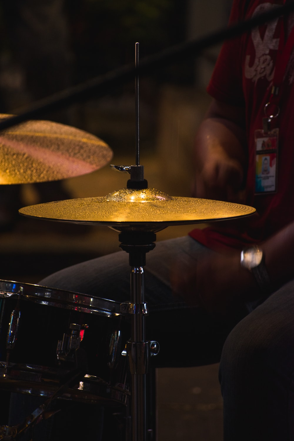 brown cymbals