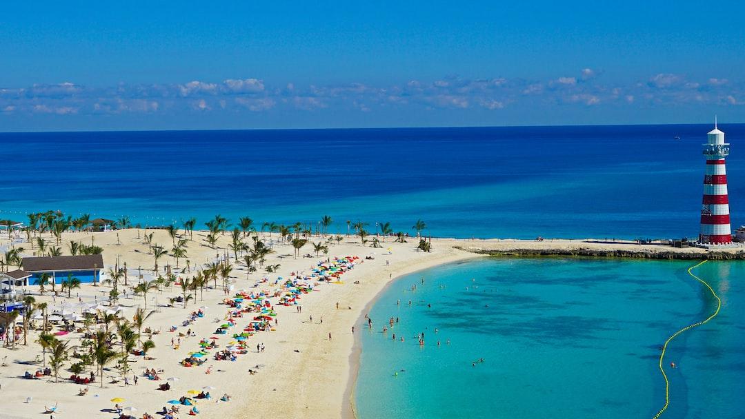 Ocean Cay, MSC Marine Reserve, Bahamas.