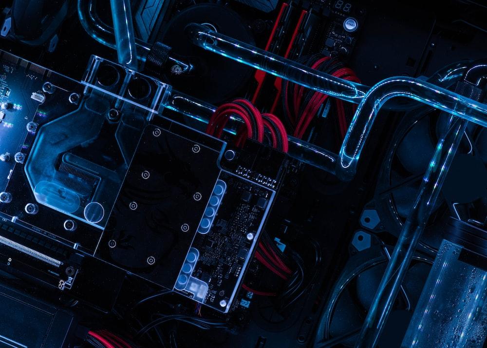 black circuit board