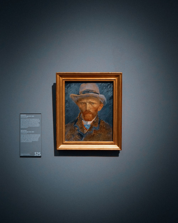 man's portrait photo
