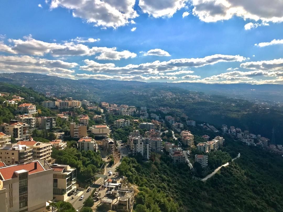 Monteverde city view, Lebanon, Mansourieh