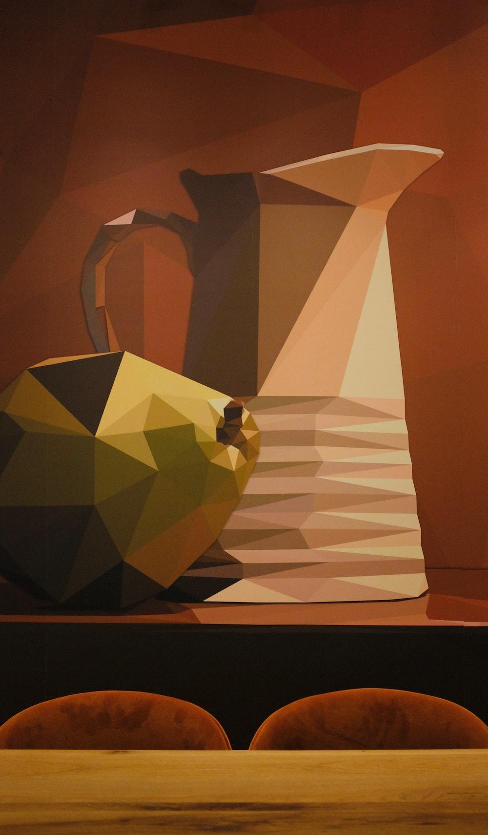 pitcher and vase artwork