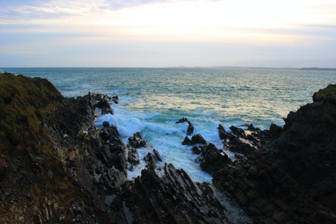 view over he wild atlantic way in Ireland