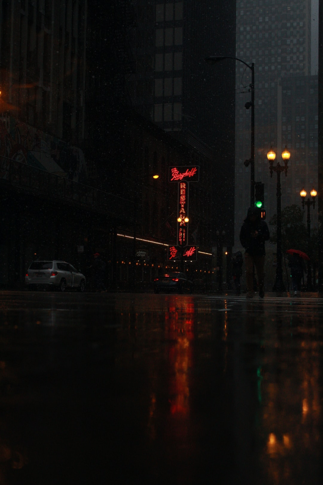 A moody shot of Chicago