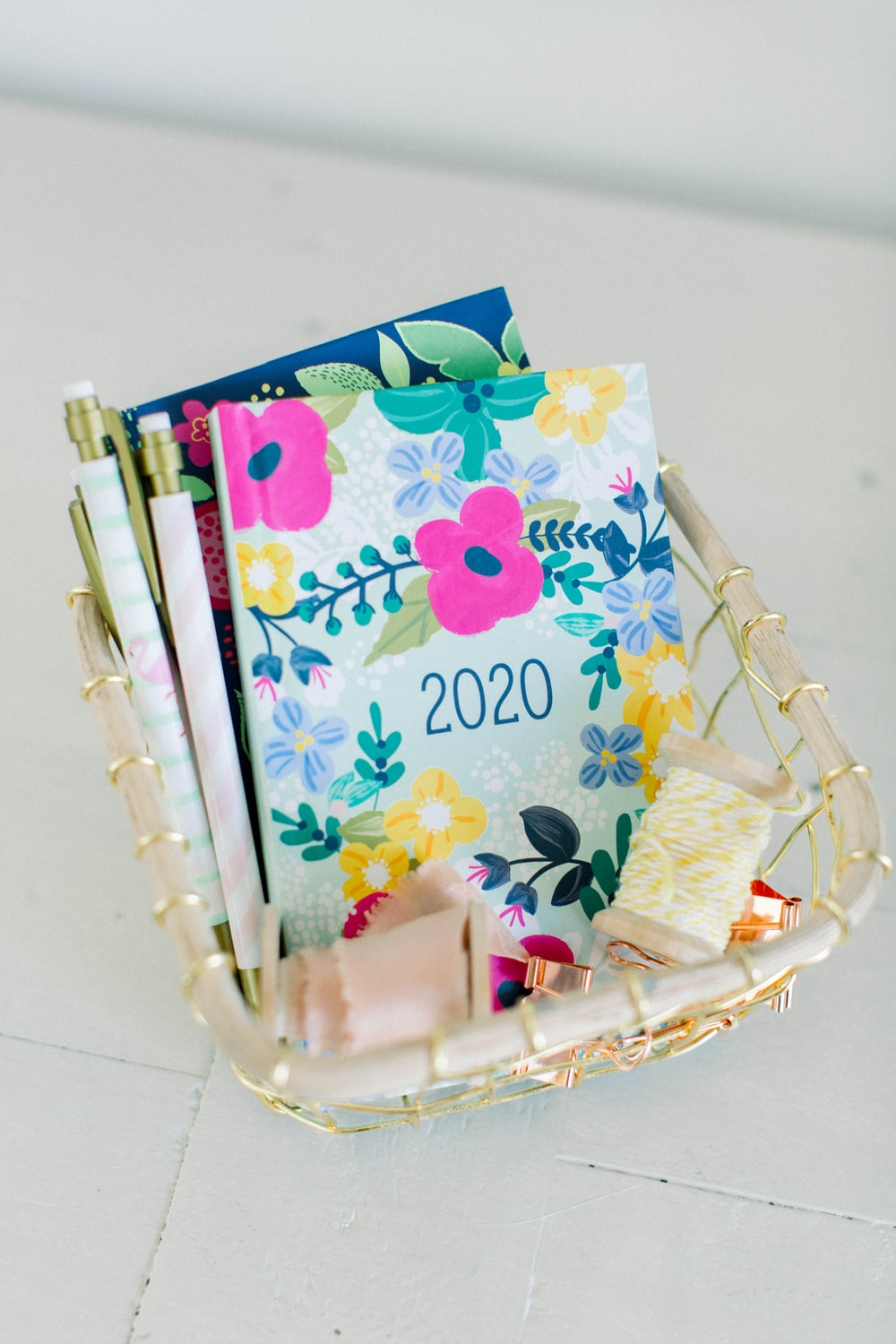 2020 books with basket