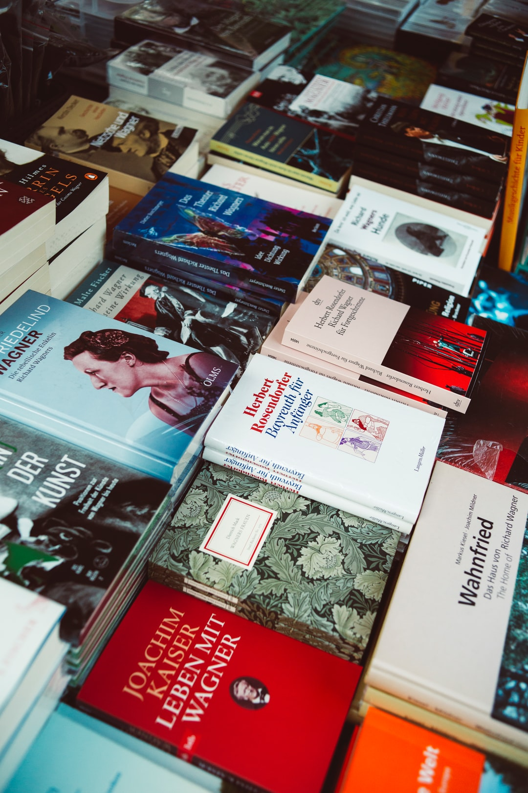 Richard Wagner book & souvenir store at legendary opera house in Bayreuth. Made with Canon 5d Mark III and vintage analog lens Leica Summicron-R 2.0 35mm.