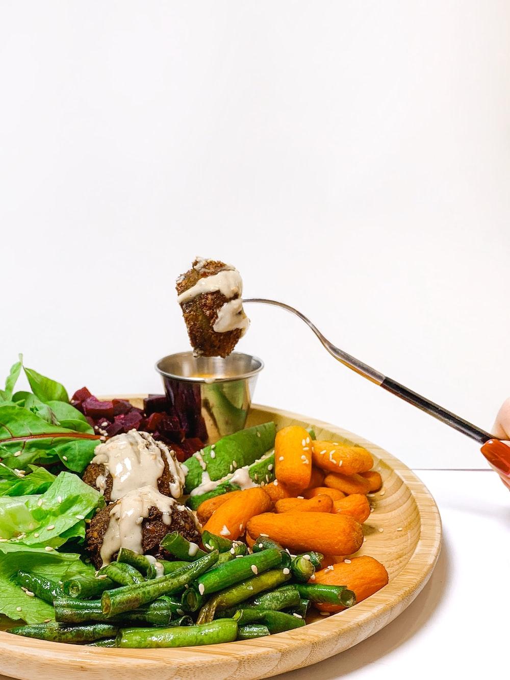 vegetable salad set