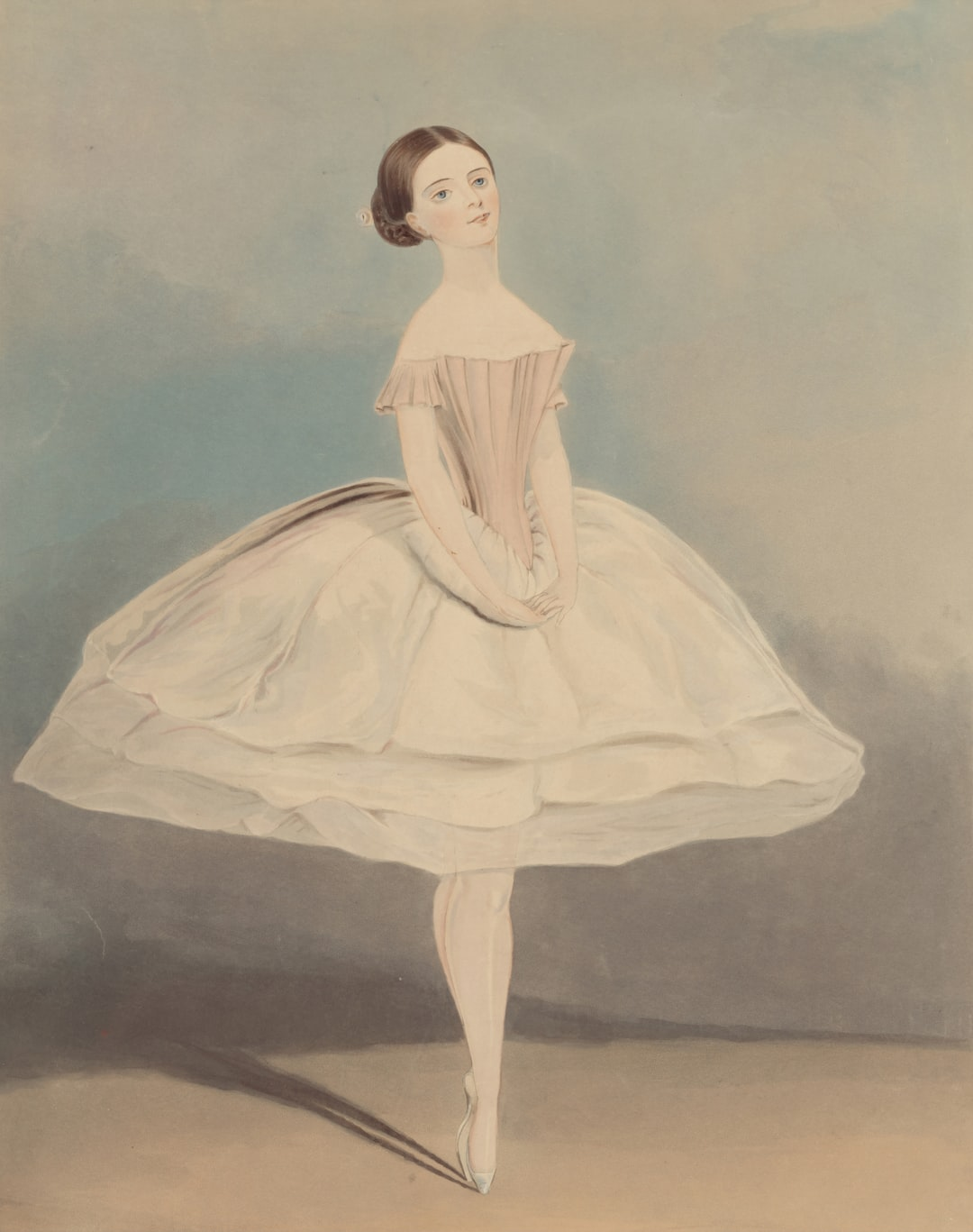 Painted in 1845 by G A Turner