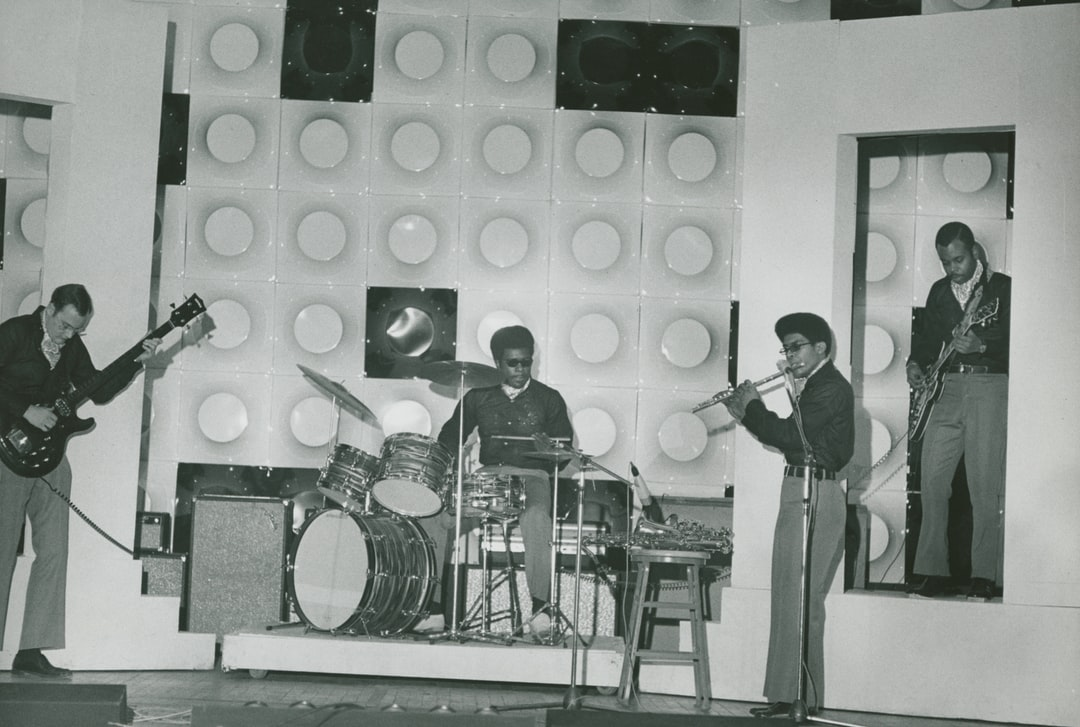 The Silver Medallions performing at the Nord Bayern Support District, 1970