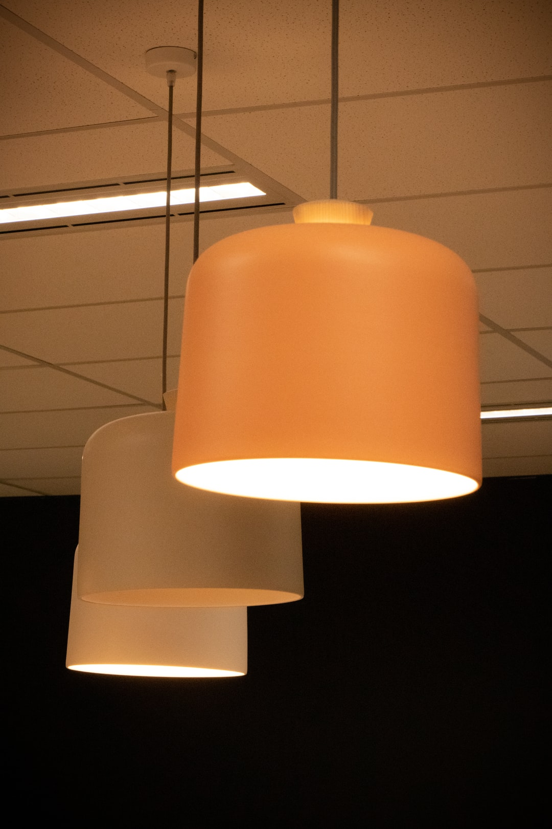Light in the office kitchen