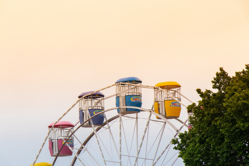 multi-colored Ferriswheel