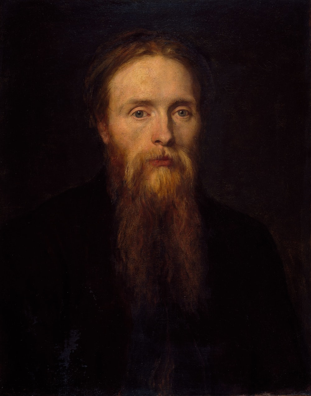 long-beard man portrait
