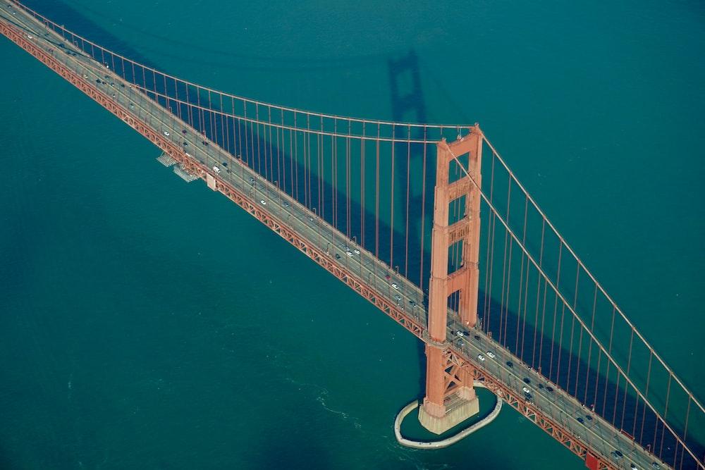 brown concrete bridge photograph