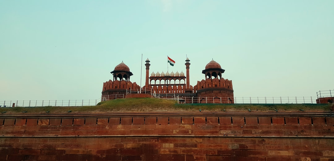Red Fort in New Delhi 🇮🇳