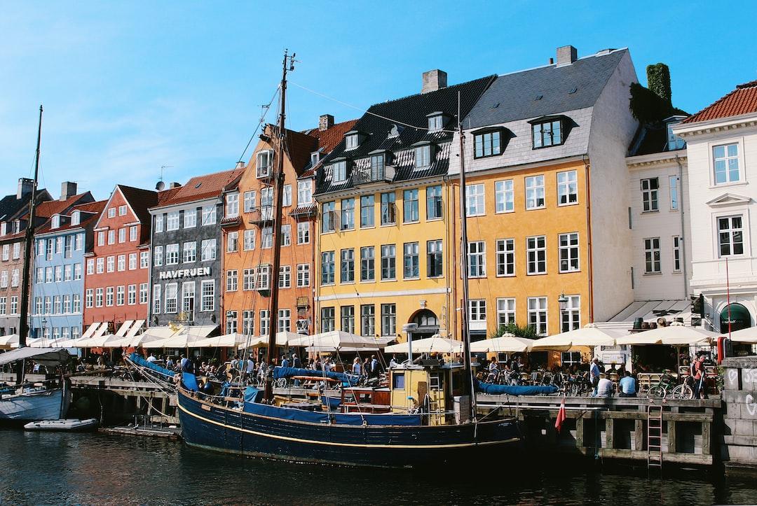 Beautiful Nyhavn Harbor in Copenhagen, Denmark 🇩🇰