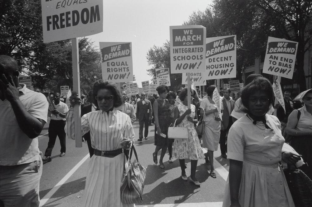 Civil rights march on Washington, D.C