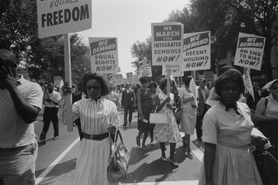 civil rights march on washington, d.c civil right teams background