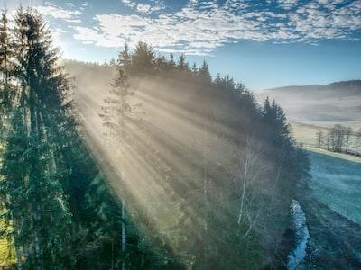 beginning of winter in Bavaria