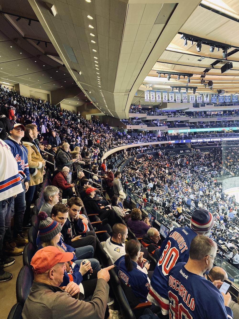 people in stadium