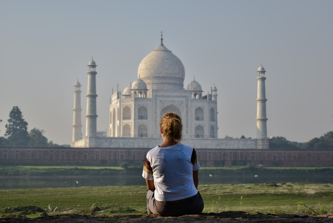 Sightseeing of Taj Mahal. Feeling the vibe of this wonder known as the Symbol Of Love.