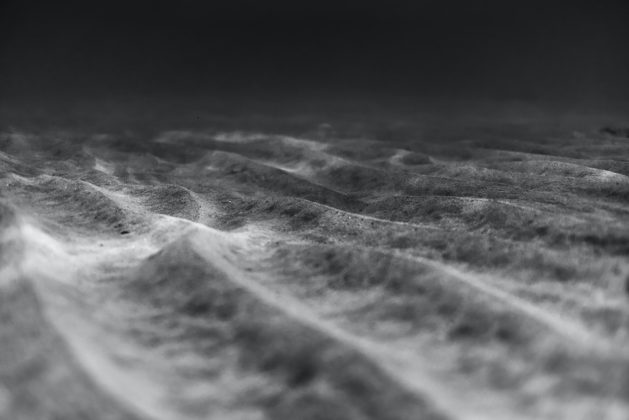 Underwater Desert Dunes