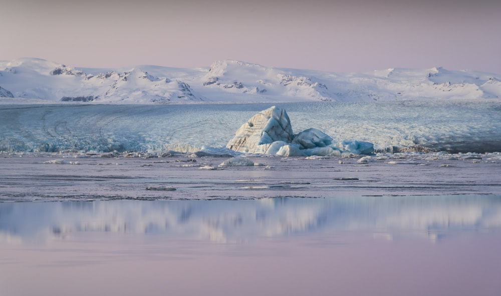 ice glacier