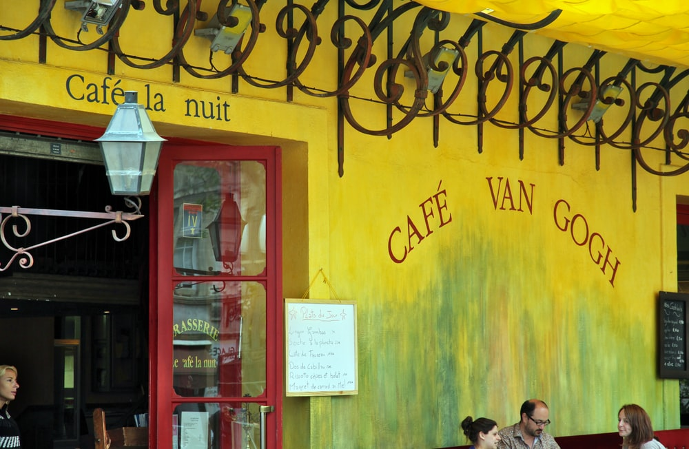 Cafe Van Gogh during daytime