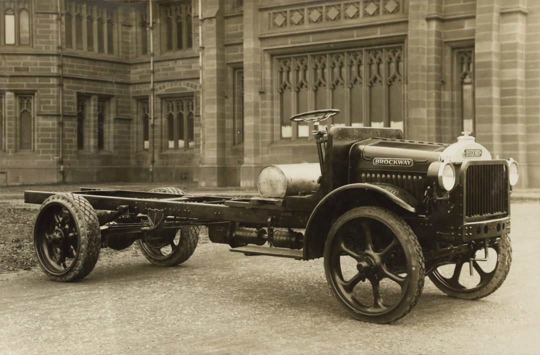 Brockway Motors Ltd, Brockway Heavy Duty Truck, Sydney, New South Wales, circa 1920