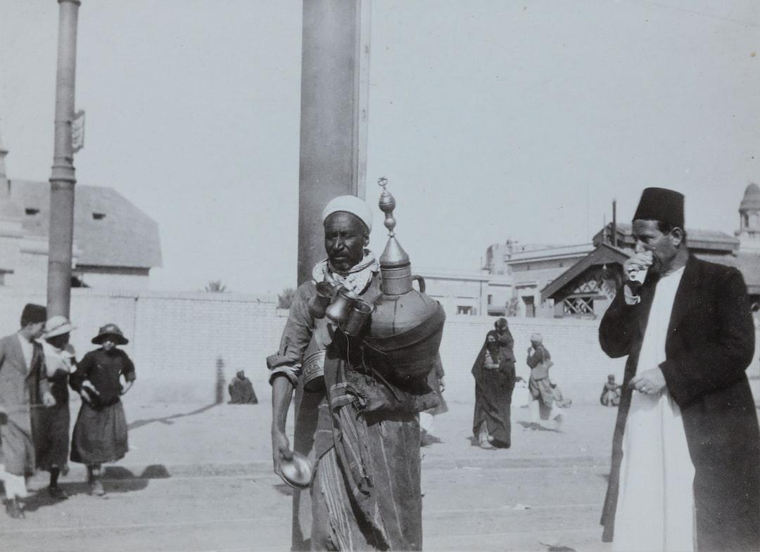 'A Water Seller in Cairo', Egypt, Captain Edward Albert McKenna, World War I, 1914-1915