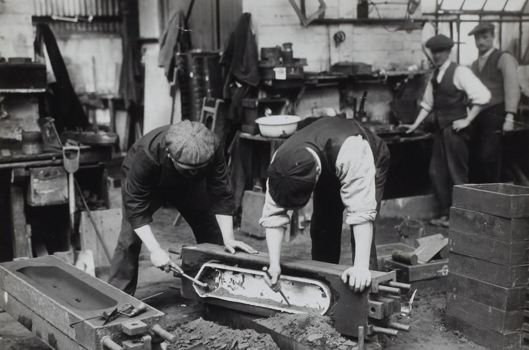 D. Napier & Son Ltd, 'Aero Engine in the Making', England, circa 1918